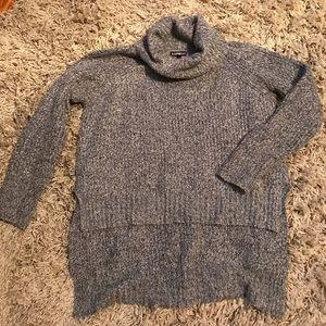 Express high-low turtleneck sweater